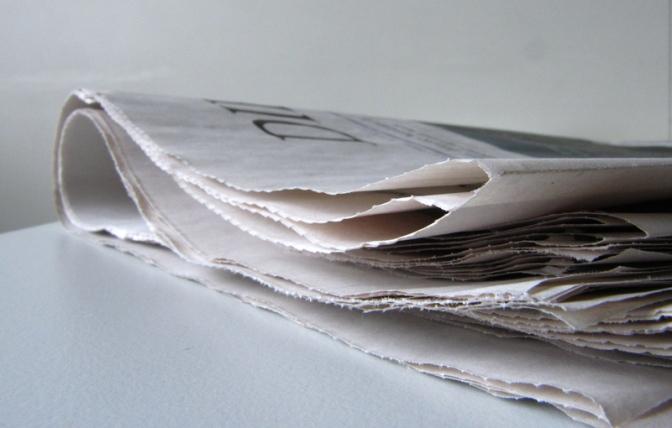 Die Zeitung als solche