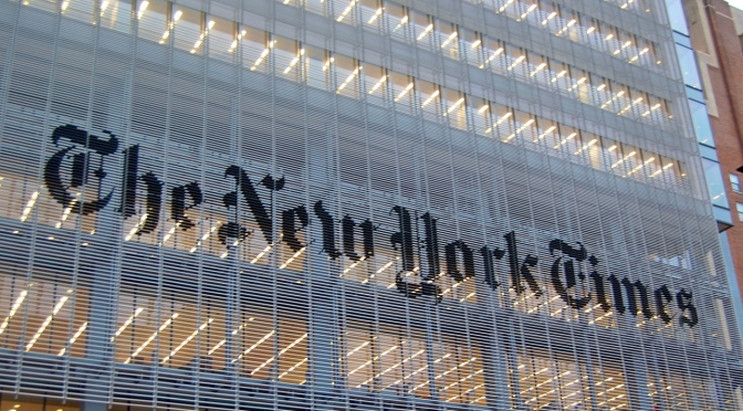 Zum Innovation Report der New York Times